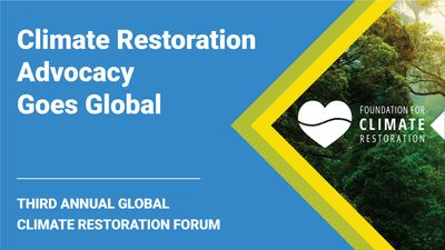 E2 - Climate Restoration Advocacy Goes Global