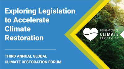 E4 - Legislation to Accelerate Climate Restoration