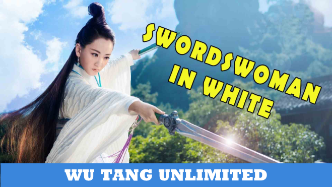 Swordswoman In White