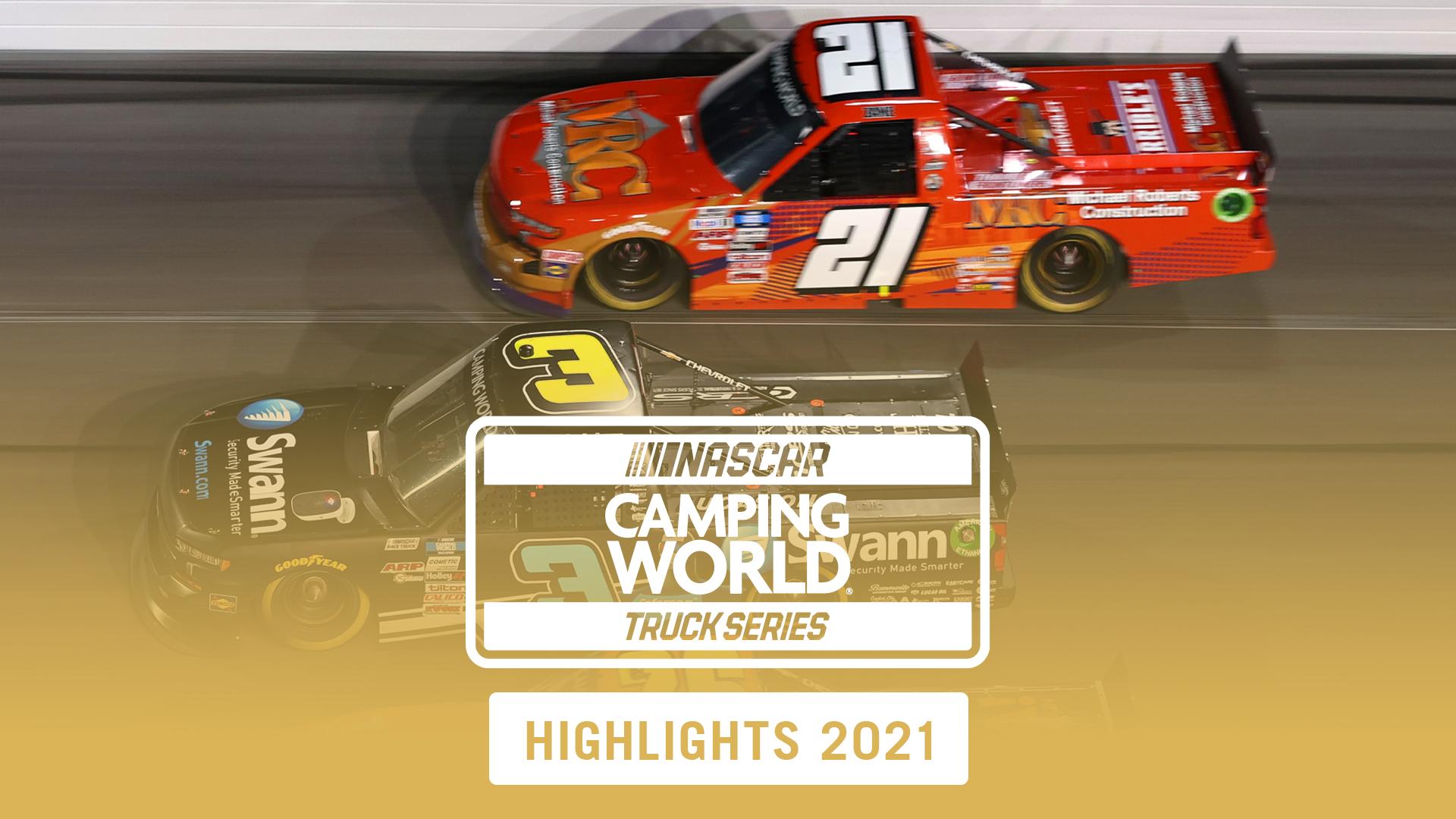 2021 NASCAR Camping Truck Series, Highlights
