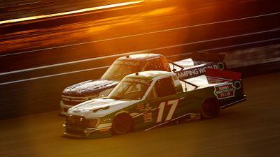 NASCAR Truck Race at Nashville