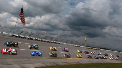 NASCAR Truck Race at Talladega