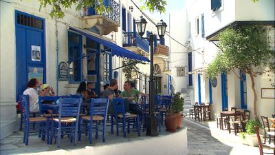 Northern Cyclades - Blue, White, Blue